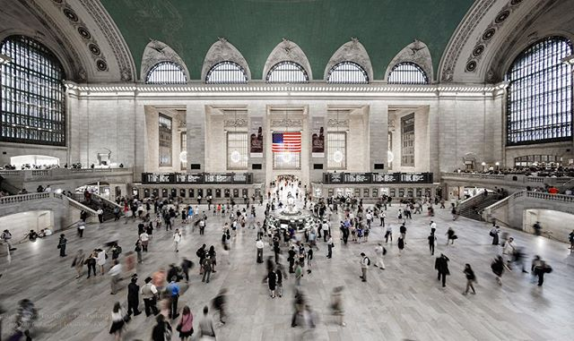 The Main Concourse at Grand Central Station...my interpretation of one of the worlds most visited tourist attractions. 📷: July 2016
