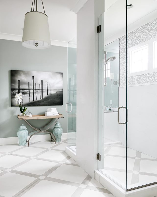 Lucky to have photographed this impossibly polished master bathroom suite for @artisansignaturehomes and @trademark502.